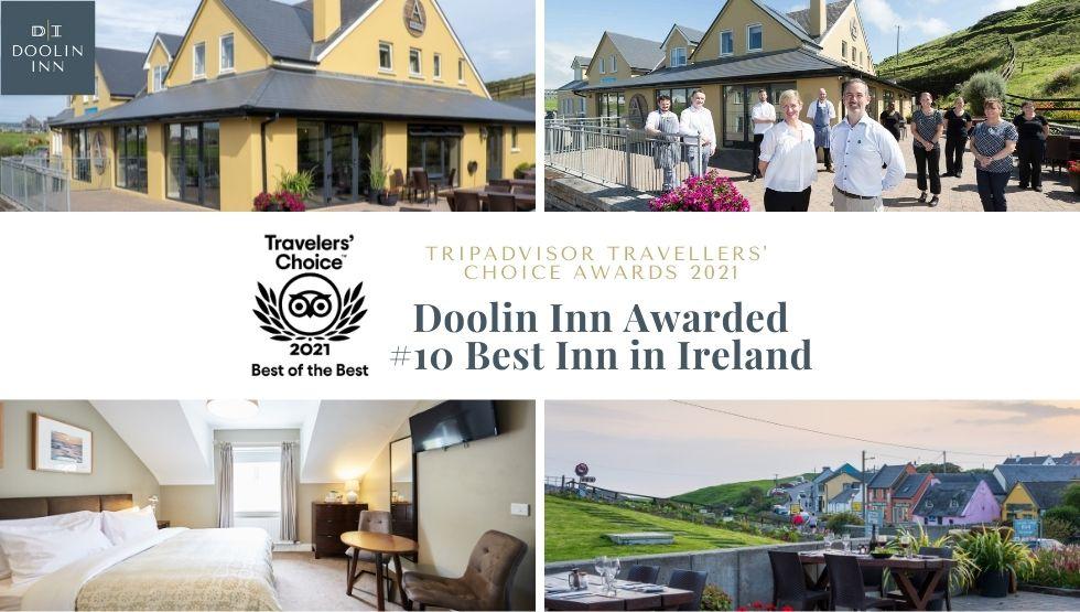 doolin inn named 10th best b&b in ireland tripadvisor